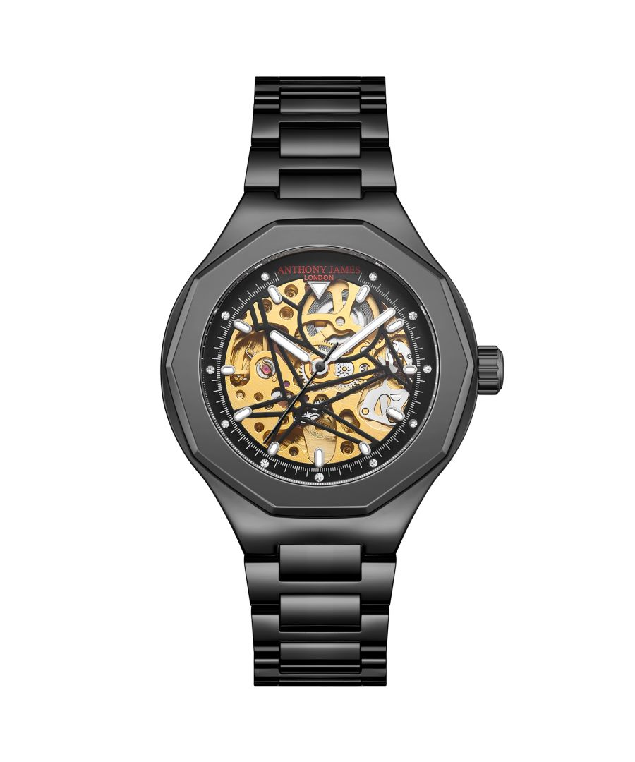 Image for Hand Assembled Anthony James Limited Edition Sports Skeleton Black - 5 Year Warranty
