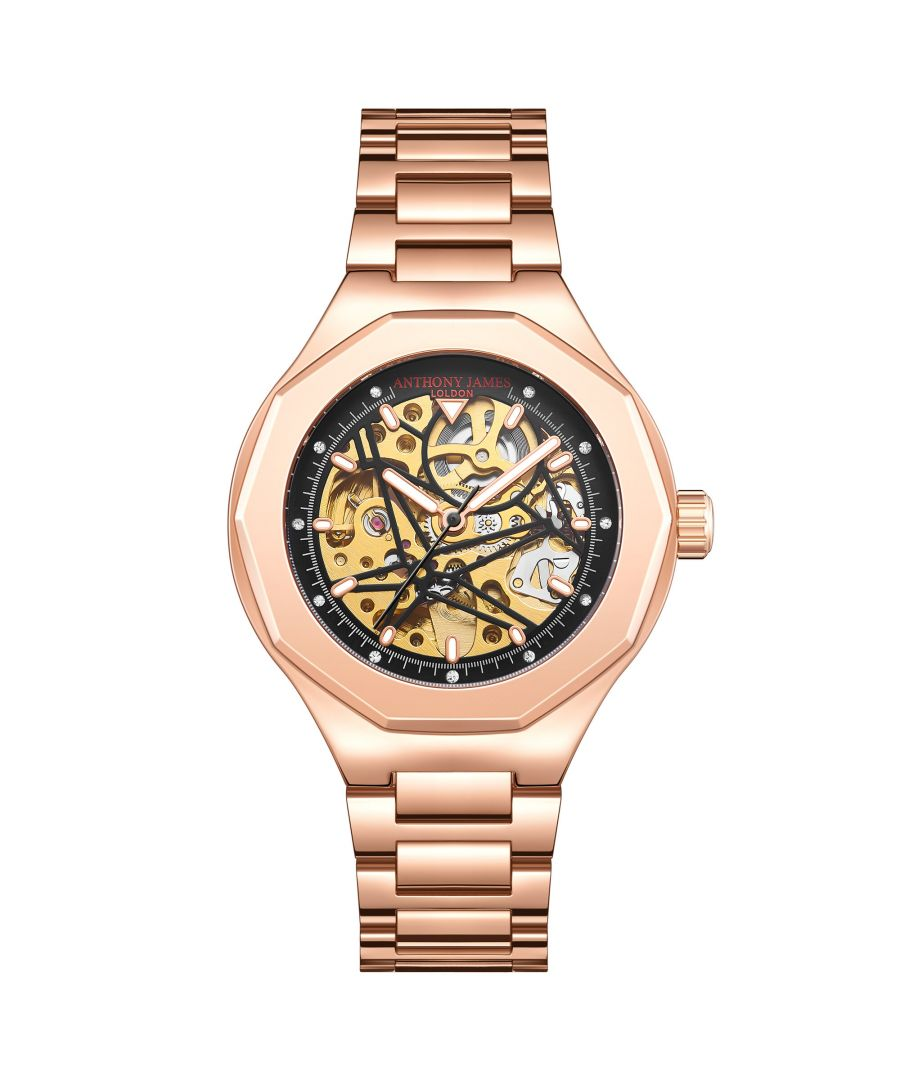 Image for Hand Assembled Anthony James Limited Edition Sports Skeleton Rose - 5 Year Warranty