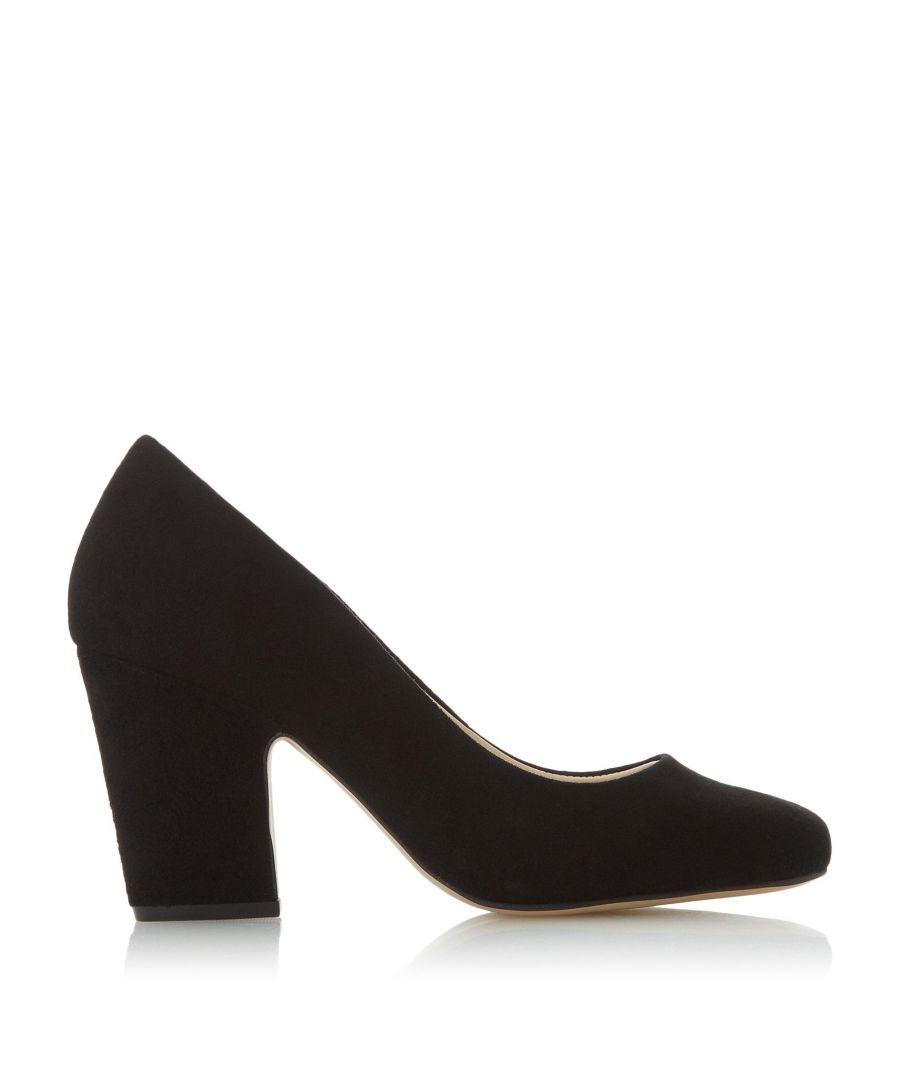Image for Dune Ladies ALEJANDRO T Square Toe Court Shoes