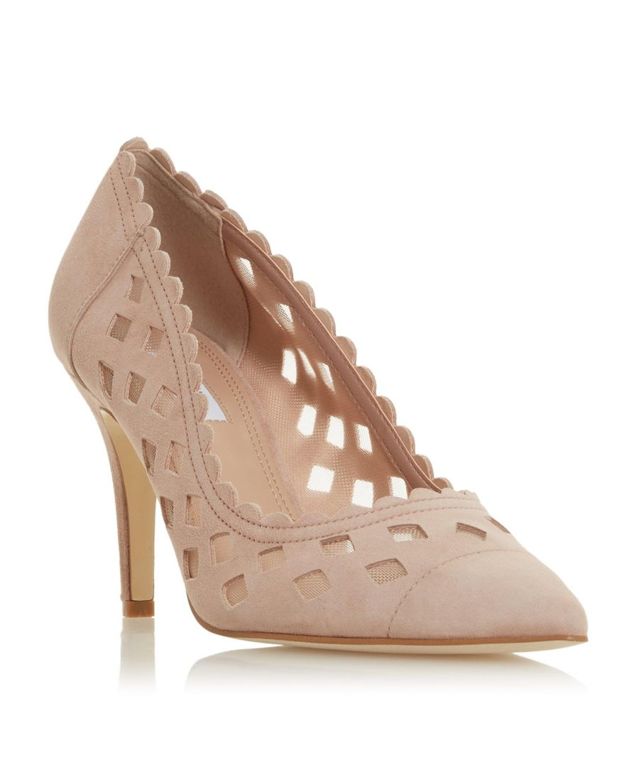 Image for Dune Ladies ALORAA Cut-Out High Heel Court Shoe