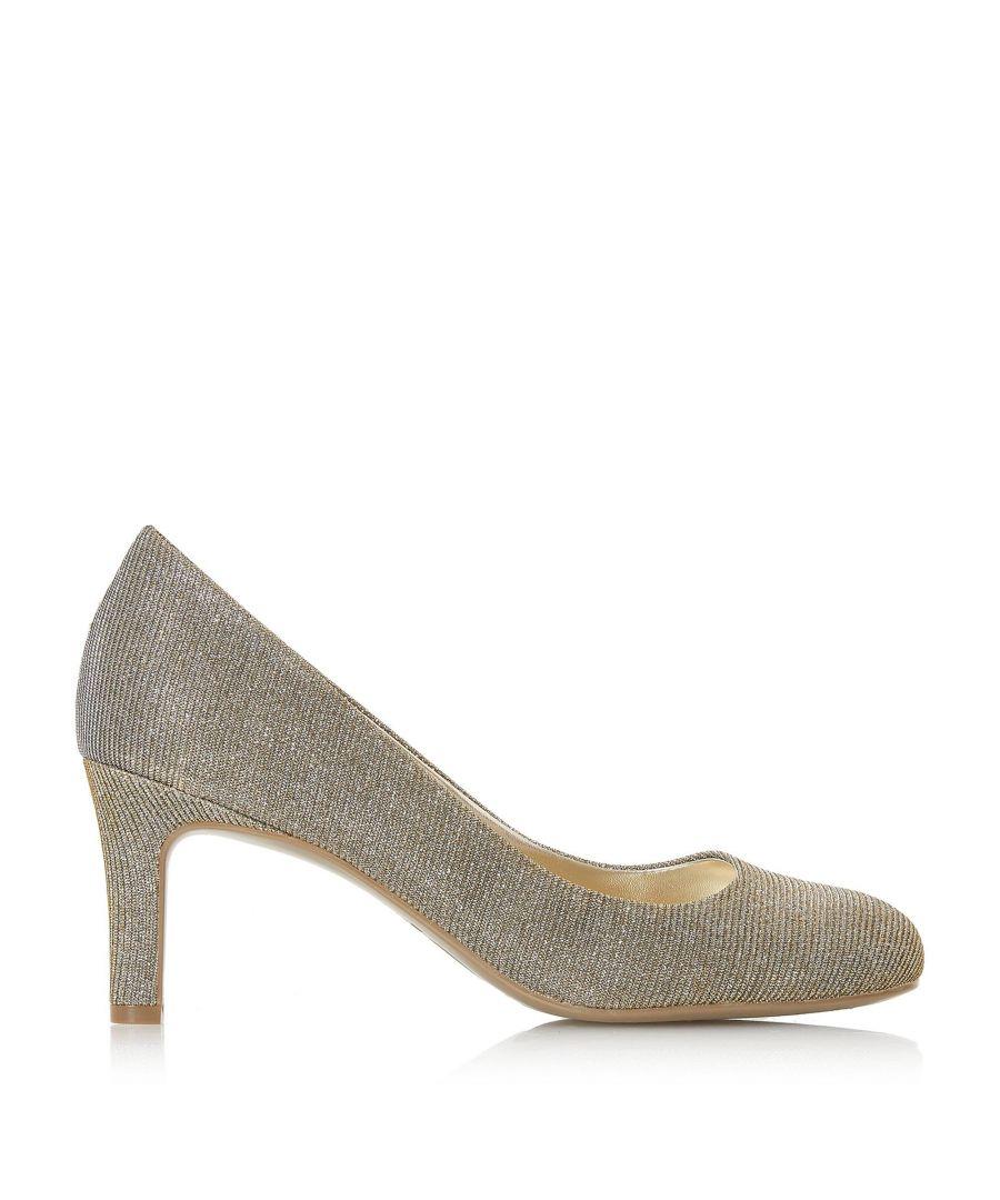 Image for Dune Ladies AMALEI Mid Heel Court Shoe