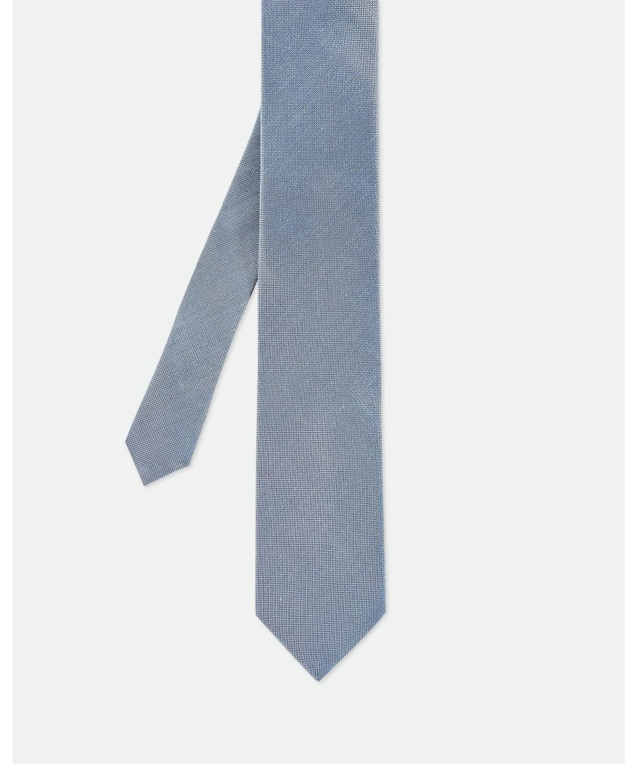 Image for Ted Baker Amaze Plain Skinny Tie, Blue