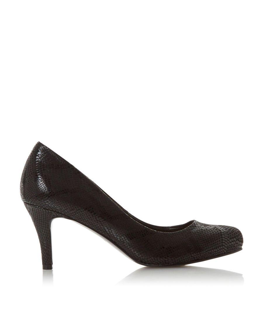 Image for Dune Ladies AMELIA Mid Heel Court Shoes