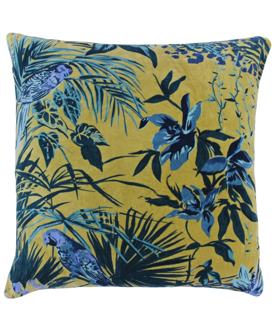 Image for Amazon Jungle Polyester Filled Round Cushion