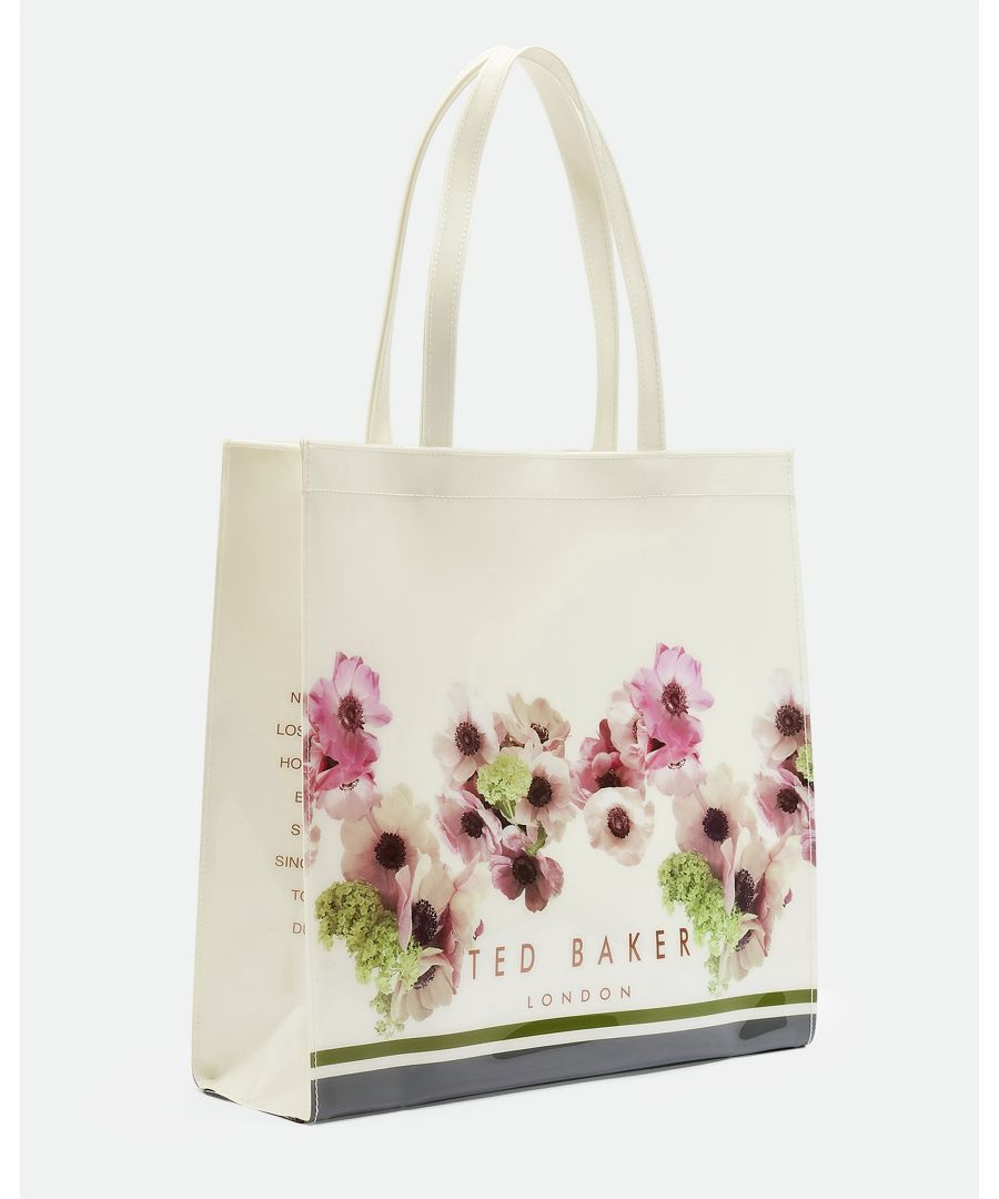 Image for Ted Baker Ancon Neopolitan Lrg Icon Bag, Ivory