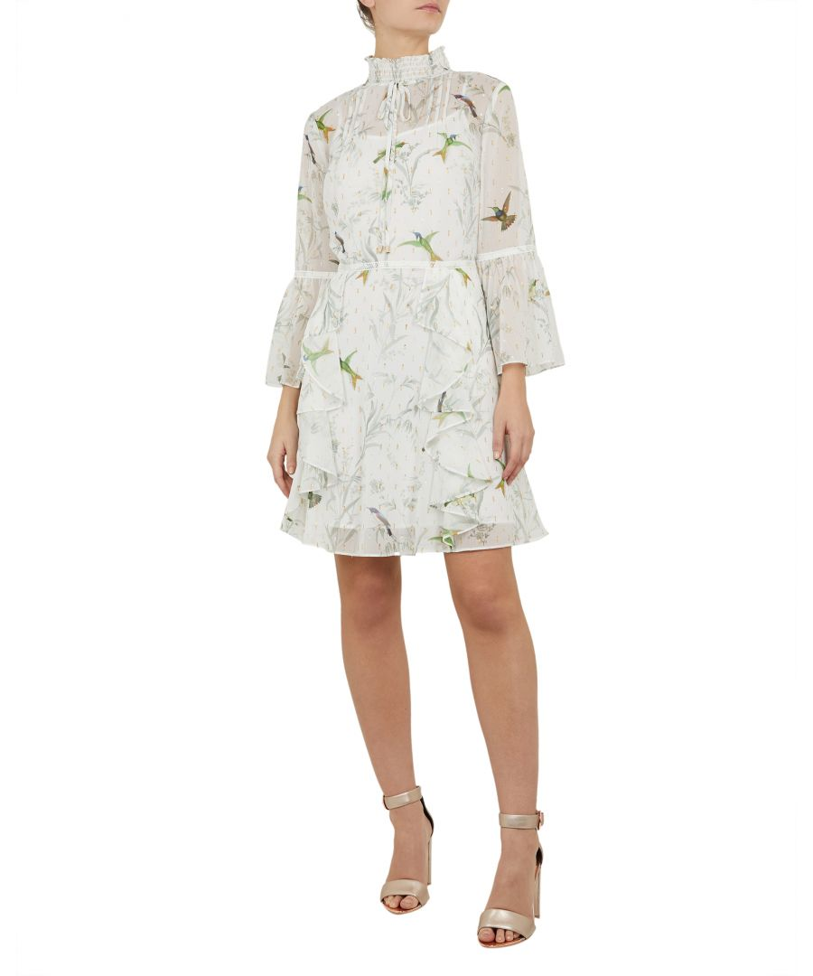 Image for Ted Baker Andray Fortune Layered Ruffle Dress, Mint