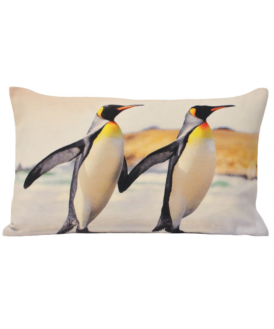 Image for Animal Penguin 35X50 Poly Cushion