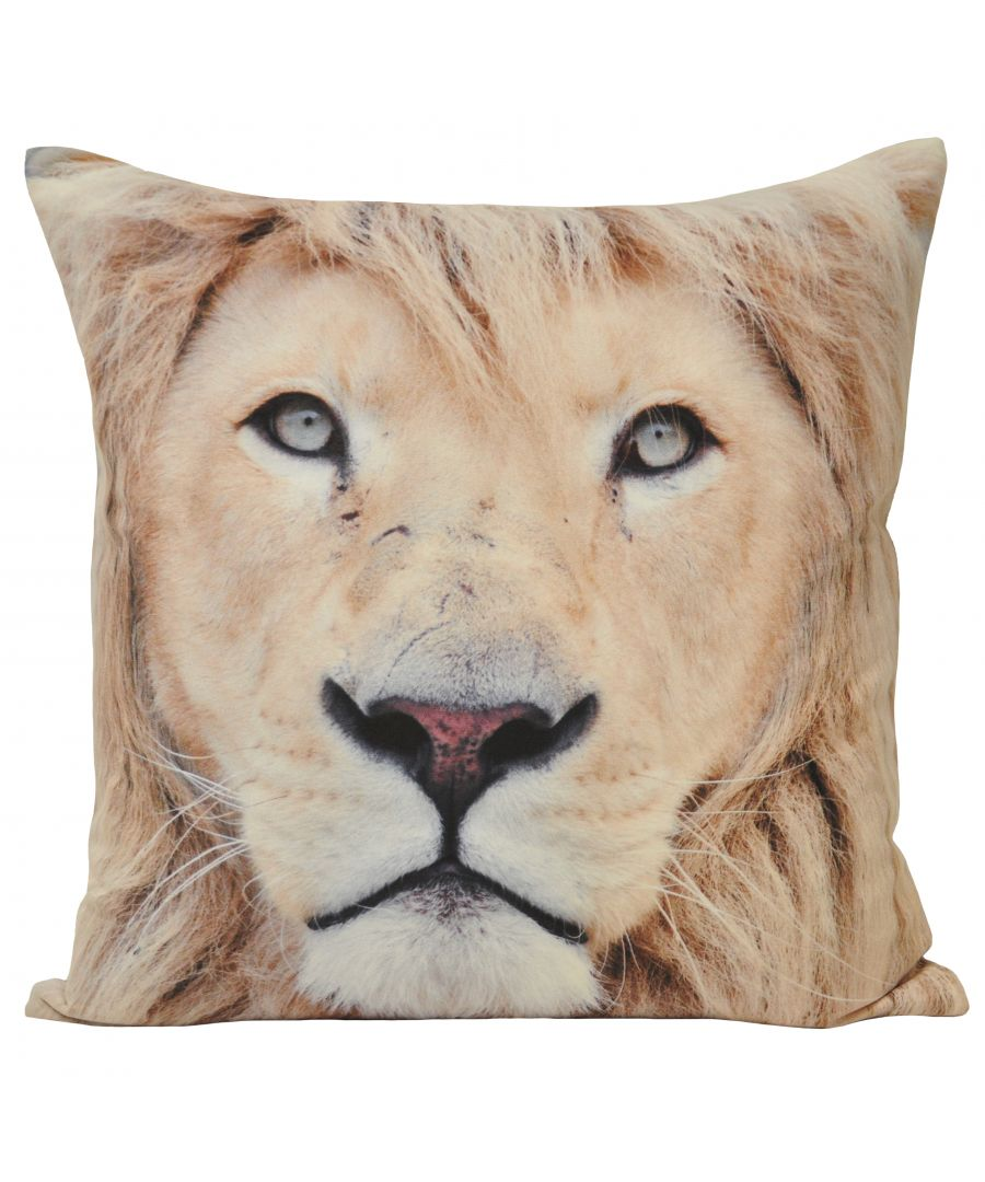 Image for Animal Lion 45X45 Poly Cushion