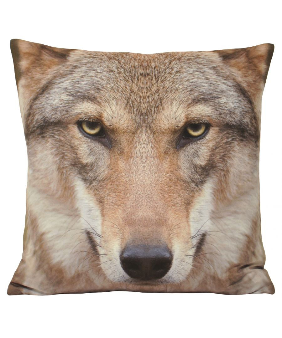 Image for Animal Wolf 45X45 Poly Cushion