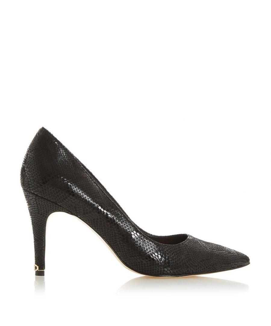 Image for Dune Ladies ANNA Signature Heel Trim Court Shoes