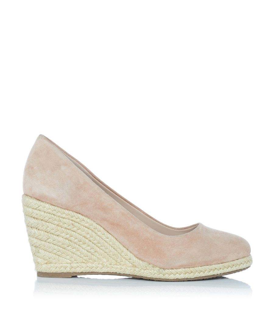 Image for Dune Ladies ANNABELLA Heeled Espadrille Wedge Shoes