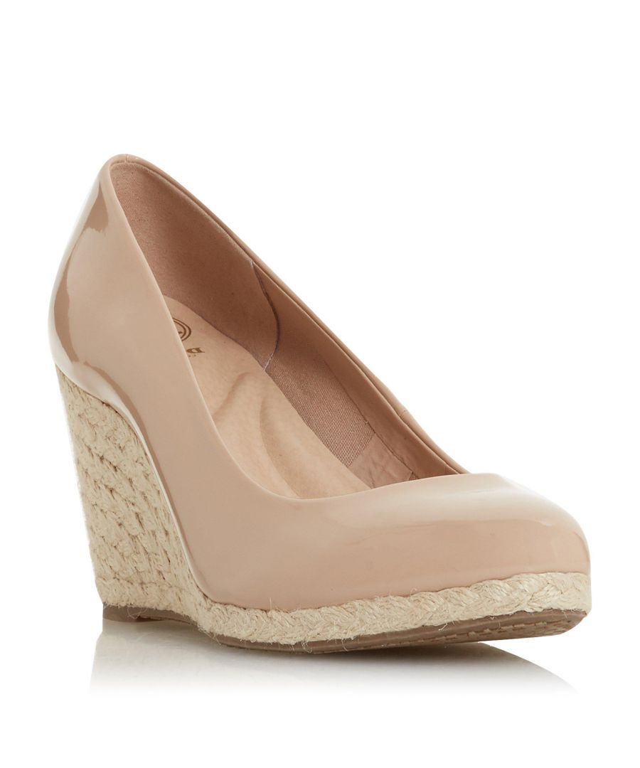 Image for Dune Ladies ANNABELS Wedge Heel Espadrille Shoe