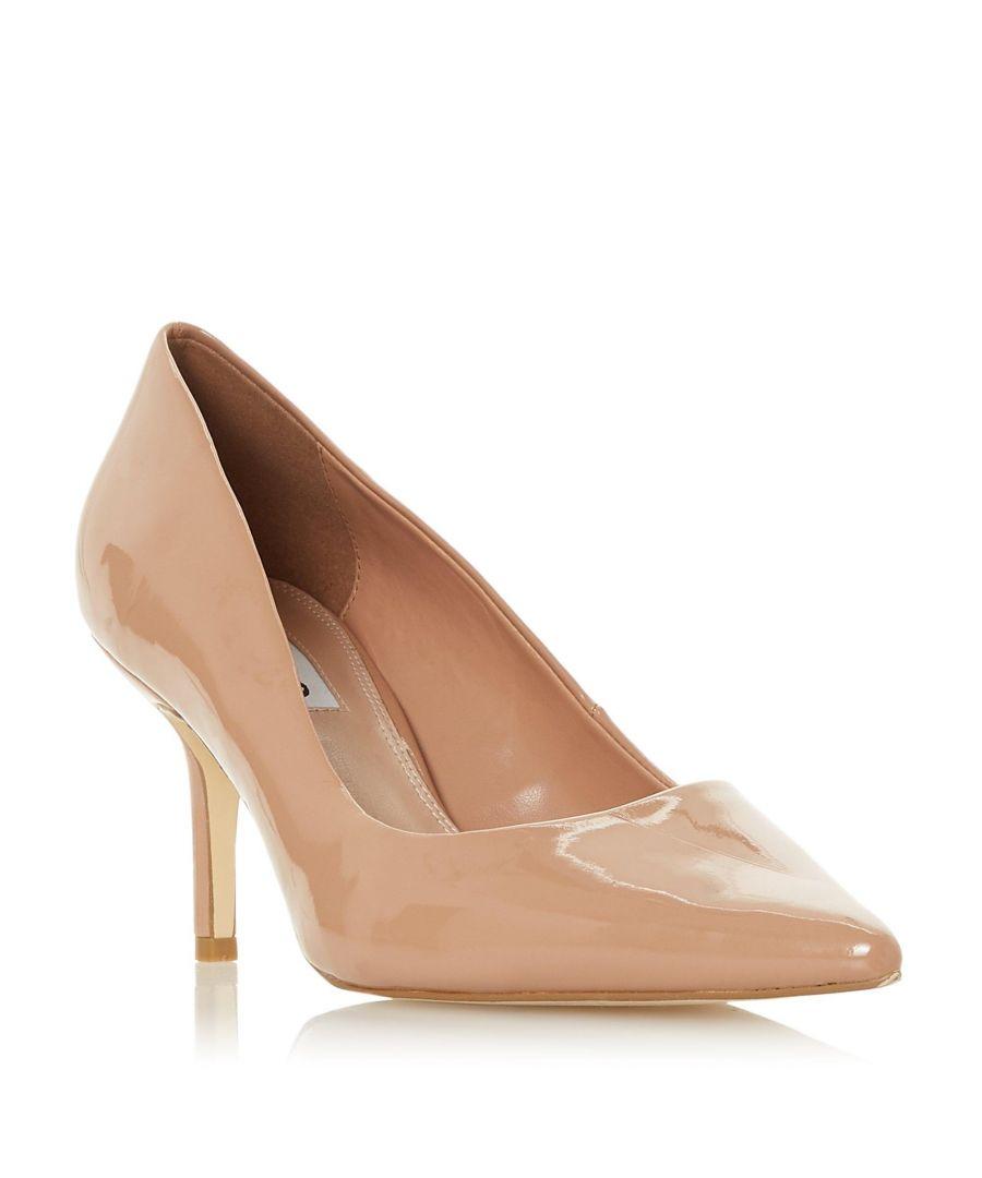 Image for Dune Ladies ANNALIE Mid Heel Court Shoe