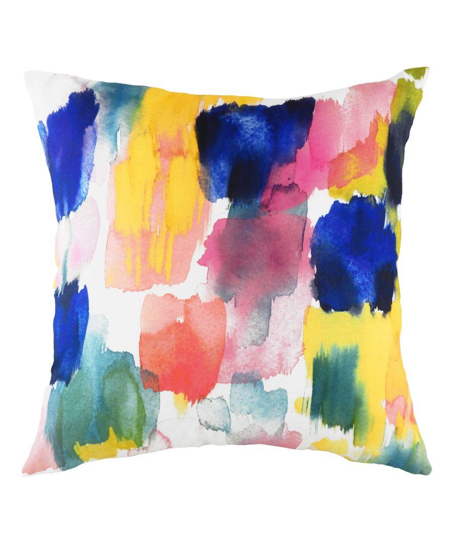 Image for Aquarelle Brushstrokes Cushion