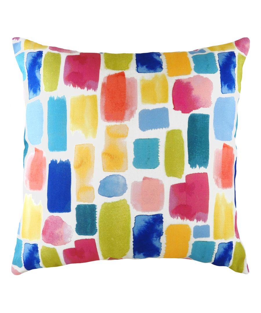 Image for Aquarelle Dash Cushion