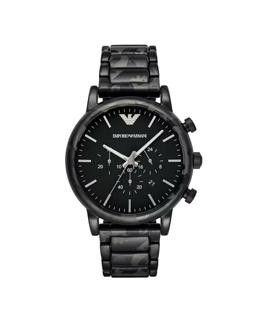 Image for Emporio Armani Mens' Luigi Chronograph Watch AR11045
