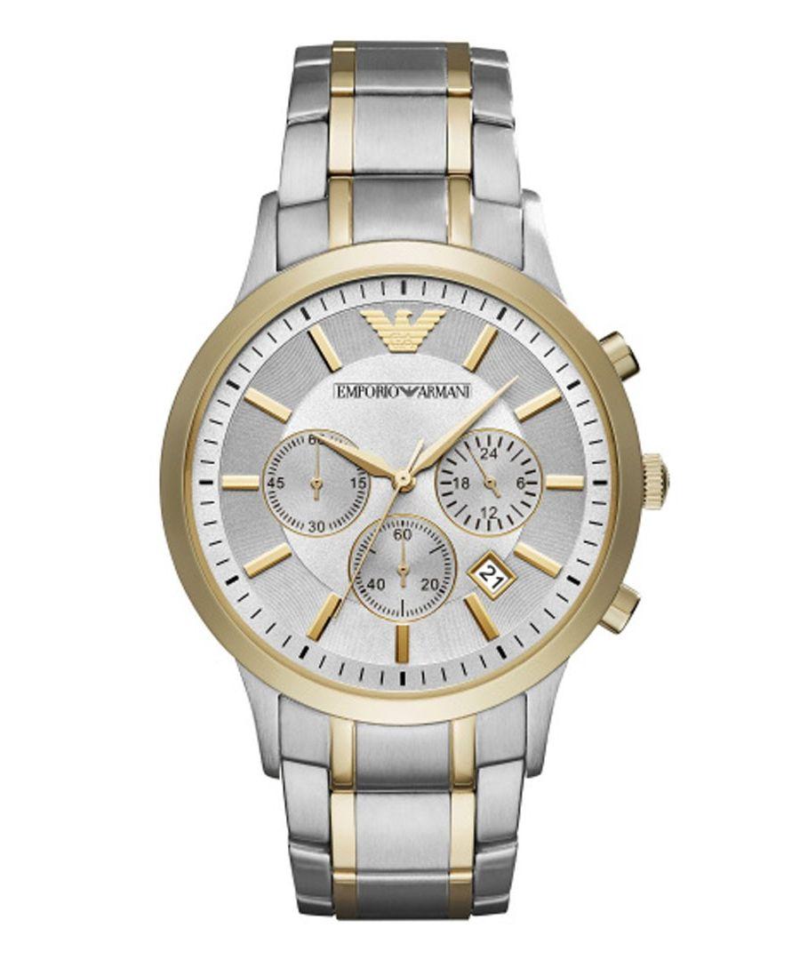 Image for Emporio Armani Mens' Chronograph Watch AR11076