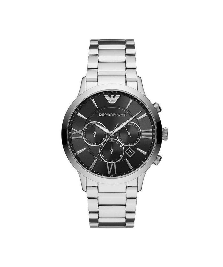 Image for Emporio Armani Mens' Chronograph Watch AR11208