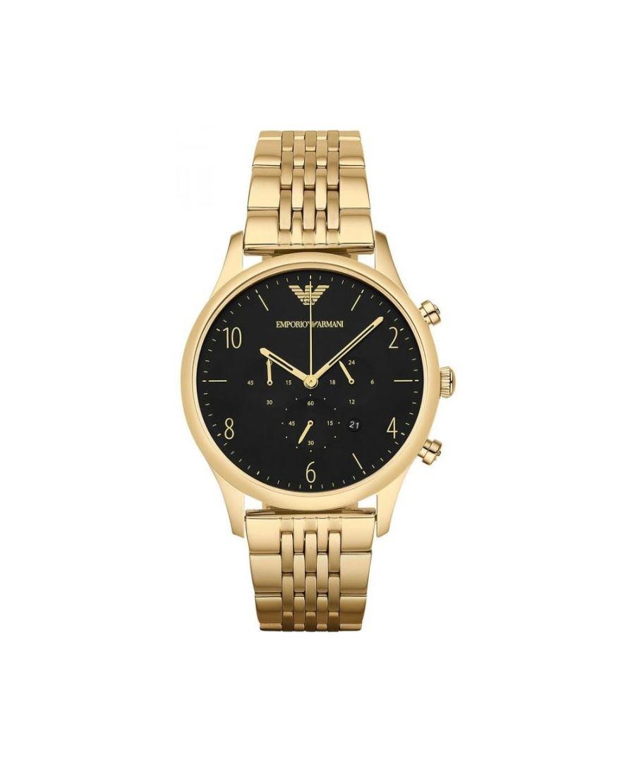 Image for Emporio Armani Mens'  Beta Chronograph Watch AR1893