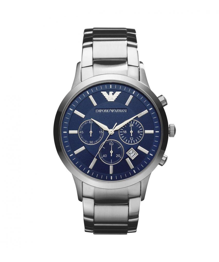 Image for Emporio Armani Mens' Chronograph Watch AR2448