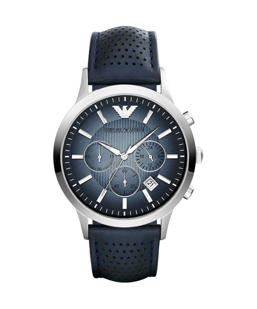 Image for Emporio Armani Mens' Chronograph Watch AR2473