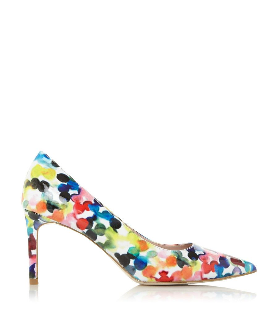 Image for Dune Ladies ART XX Bubble-Print Court Shoes