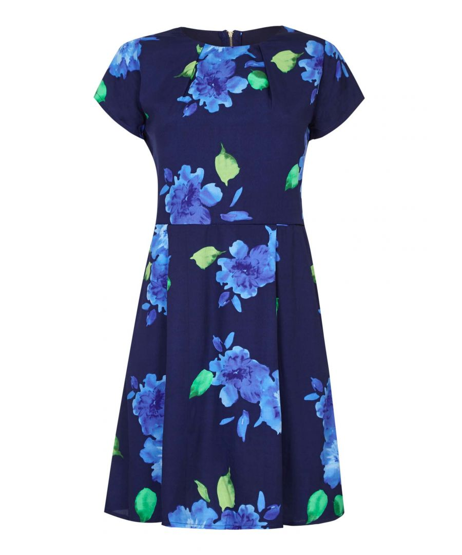 Image for FLORAL DRESS WITH BELT