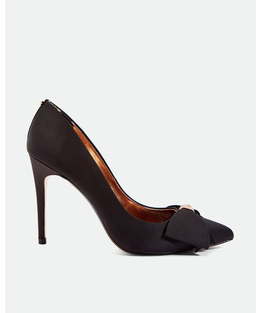 Image for Ted Baker Asellys Bow Detail Courts, Black