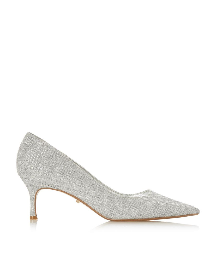 Image for Dune Ladies ASTLEY T Metallic Pointed Toe Court