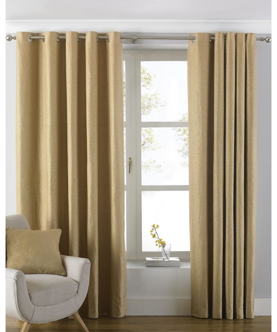 Image for Atlantic Curtains Ochre