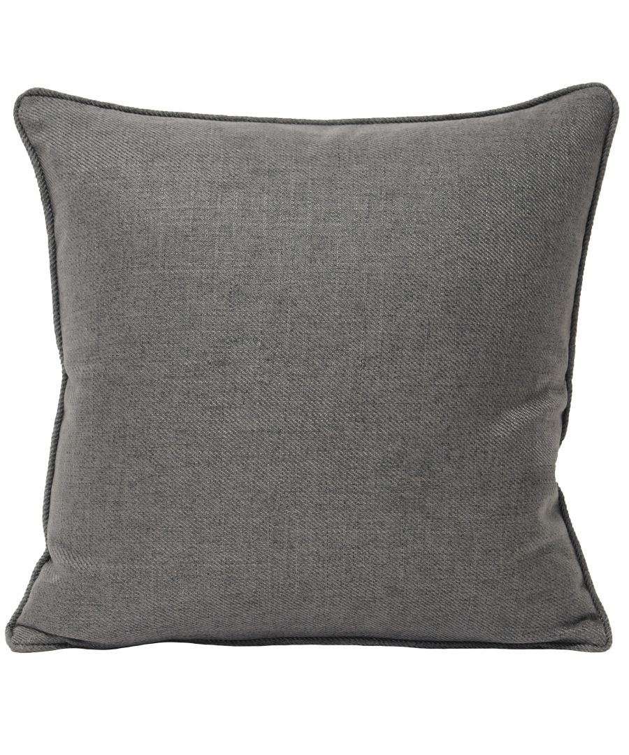 Image for Atlantic 45X45 Poly Cushion Grey