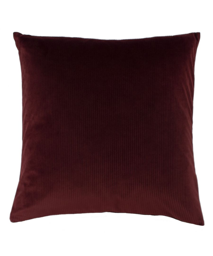 Image for Aurora 45X45 Poly Cushion Ox Blood