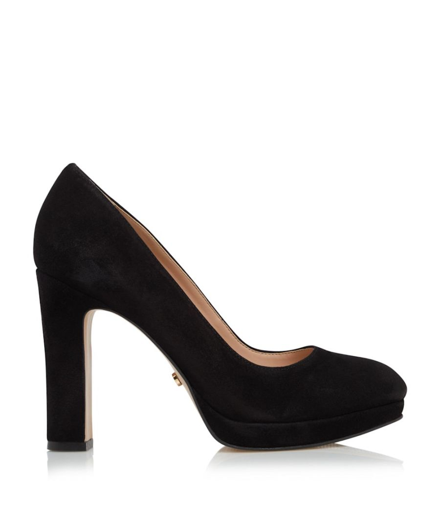 Image for Dune Ladies AUTUMN Block Heel Court Shoes