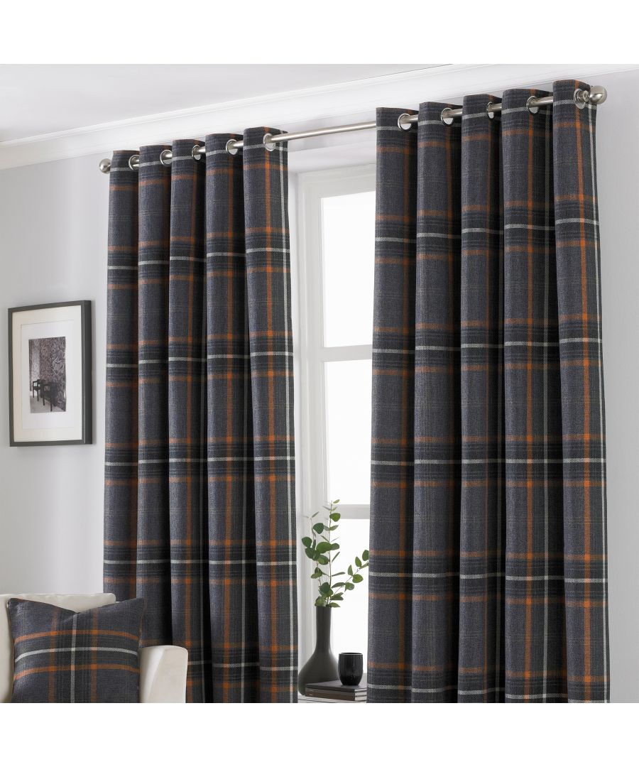 Image for Aviemore Eyelet Curtains