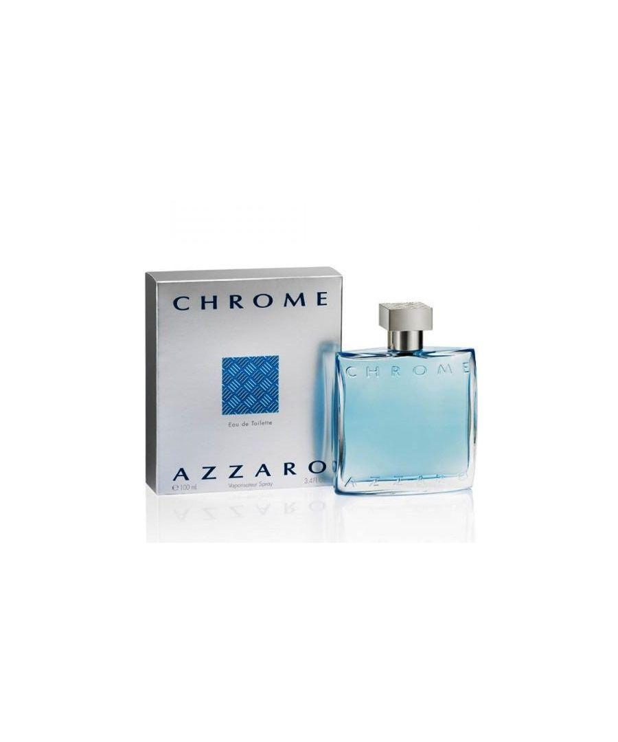 Image for Azzaro Chrome Eau De Toilette Spray 100Ml