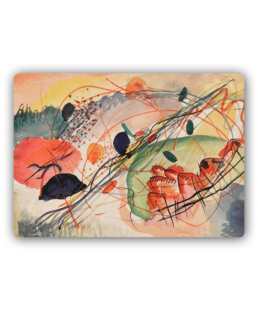 Image for Metal Print - Watercolor 6 - Wassily Kandinsky