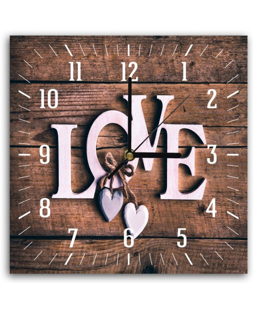 Image for Wall Clock - Love Cm. 30x30