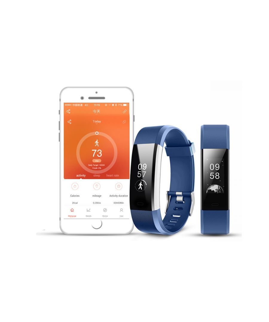 Image for Aquarius Heart Rate Monitoring Fitness Tracker  AQ125HR - Blue