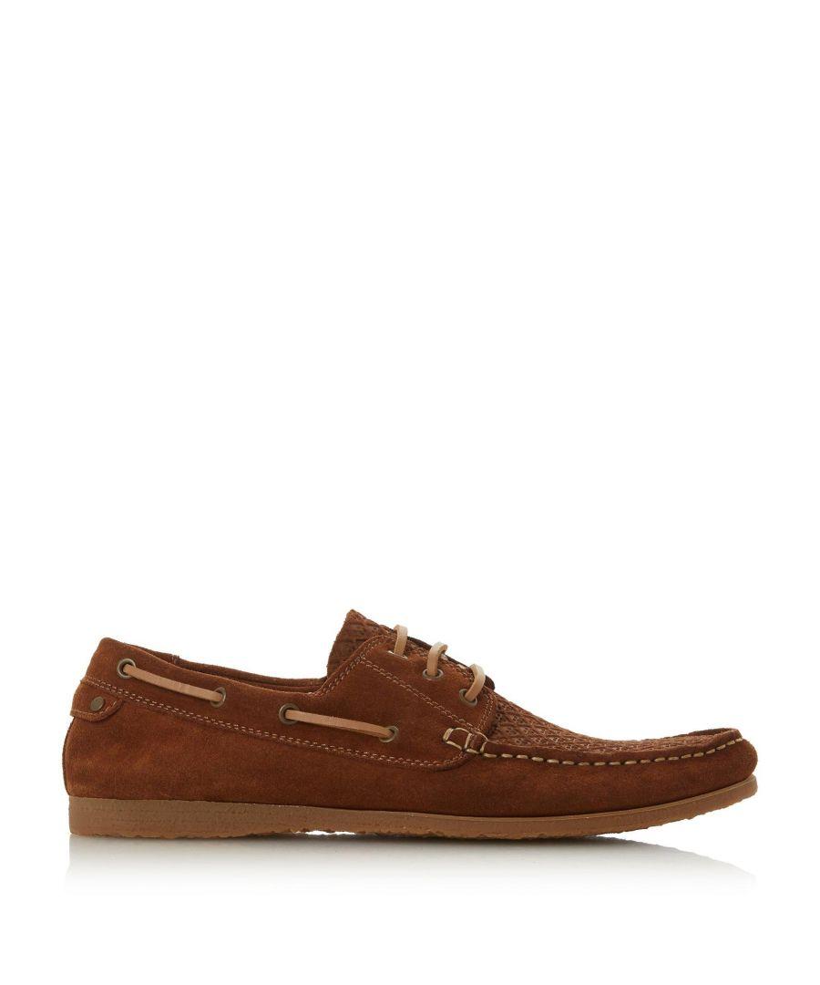 Image for Bertie Mens BAHAMAS Embossed Boat Shoes