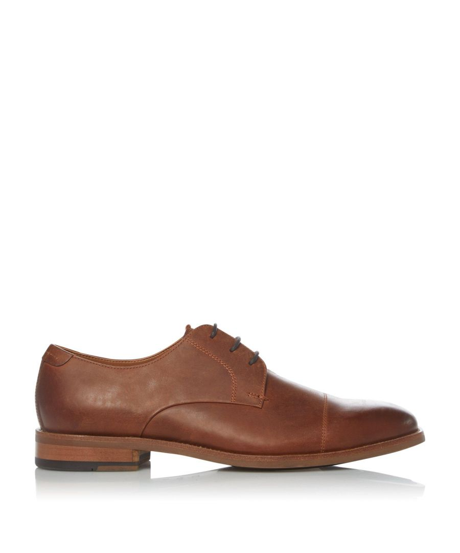 Image for Dune Mens BALANCED Leather Toecap Casual Shoes