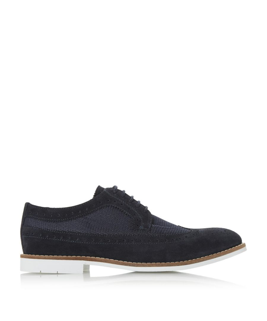 Image for Dune Mens BALDINI Mesh Lace Up Brogue