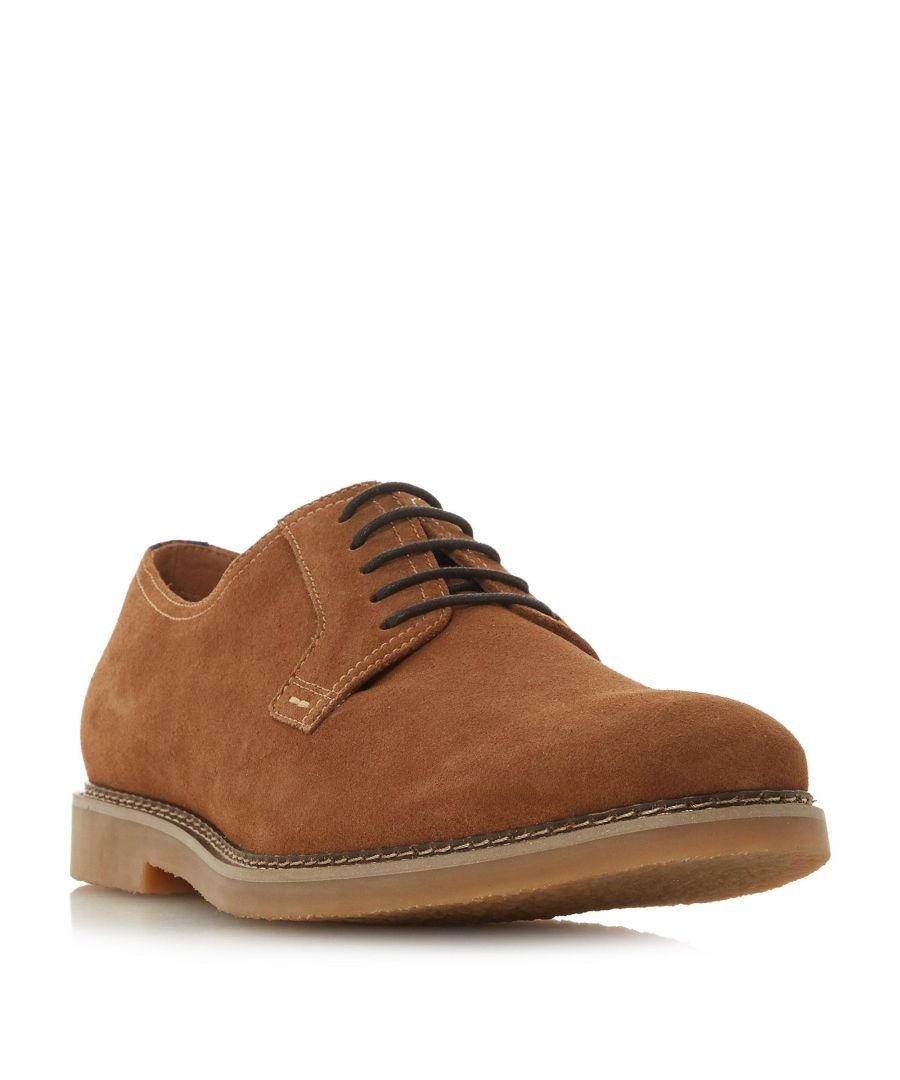 Image for Dune Mens BALERNO Suede Desert Shoe