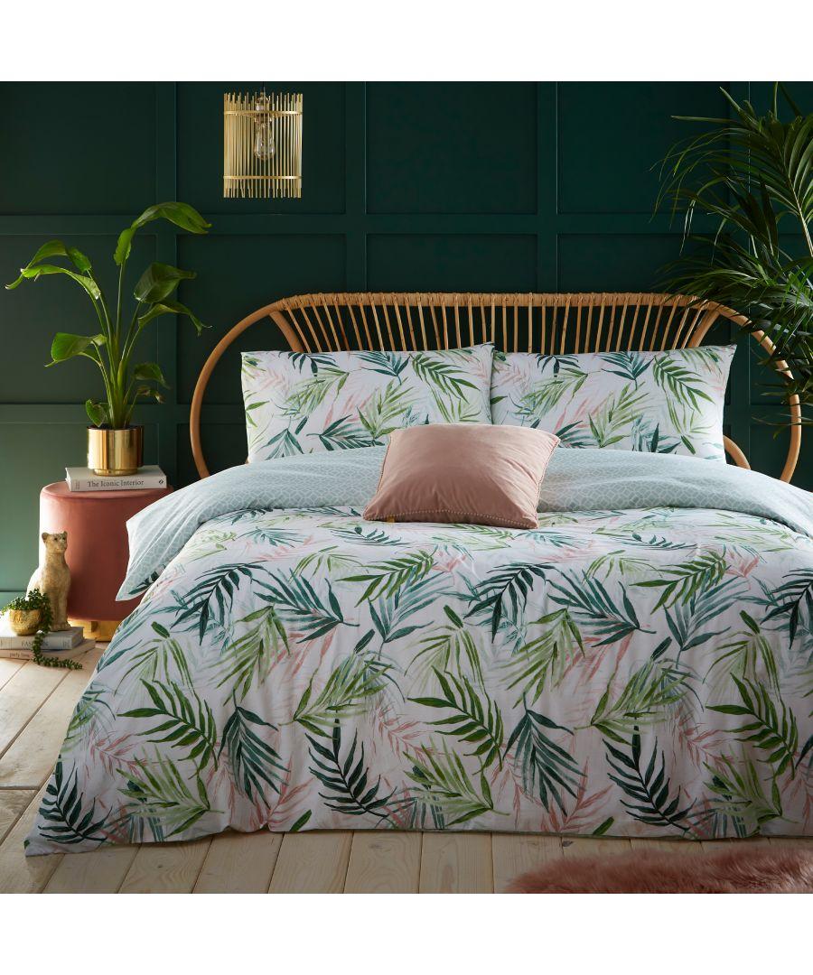Image for Bali Palm Duvet Cover Set