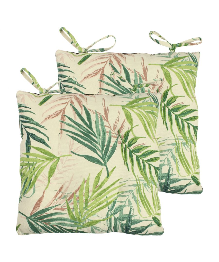 Image for Bali Palm 2 Pack Seat Pads