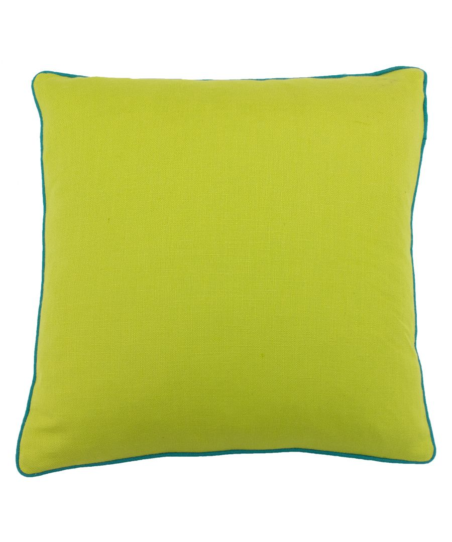 Image for Bamboo 45X45 PCushion Lime/Aqua