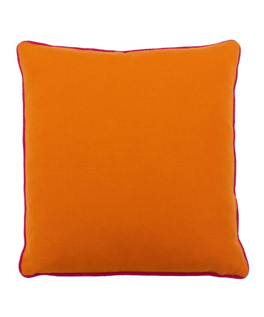 Image for Bamboo 45X45 PCushion Orange/Fuchsi
