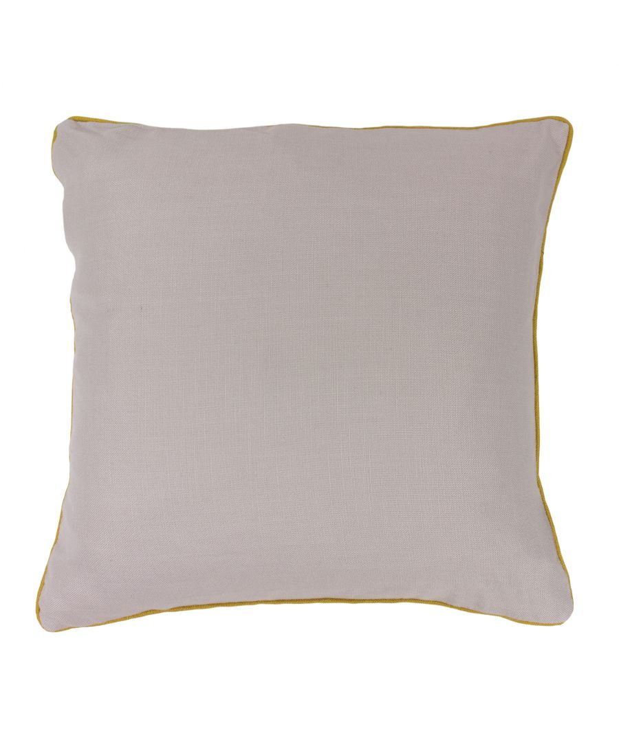 Image for Bamboo 45X45 PCushion Silver/Ochre