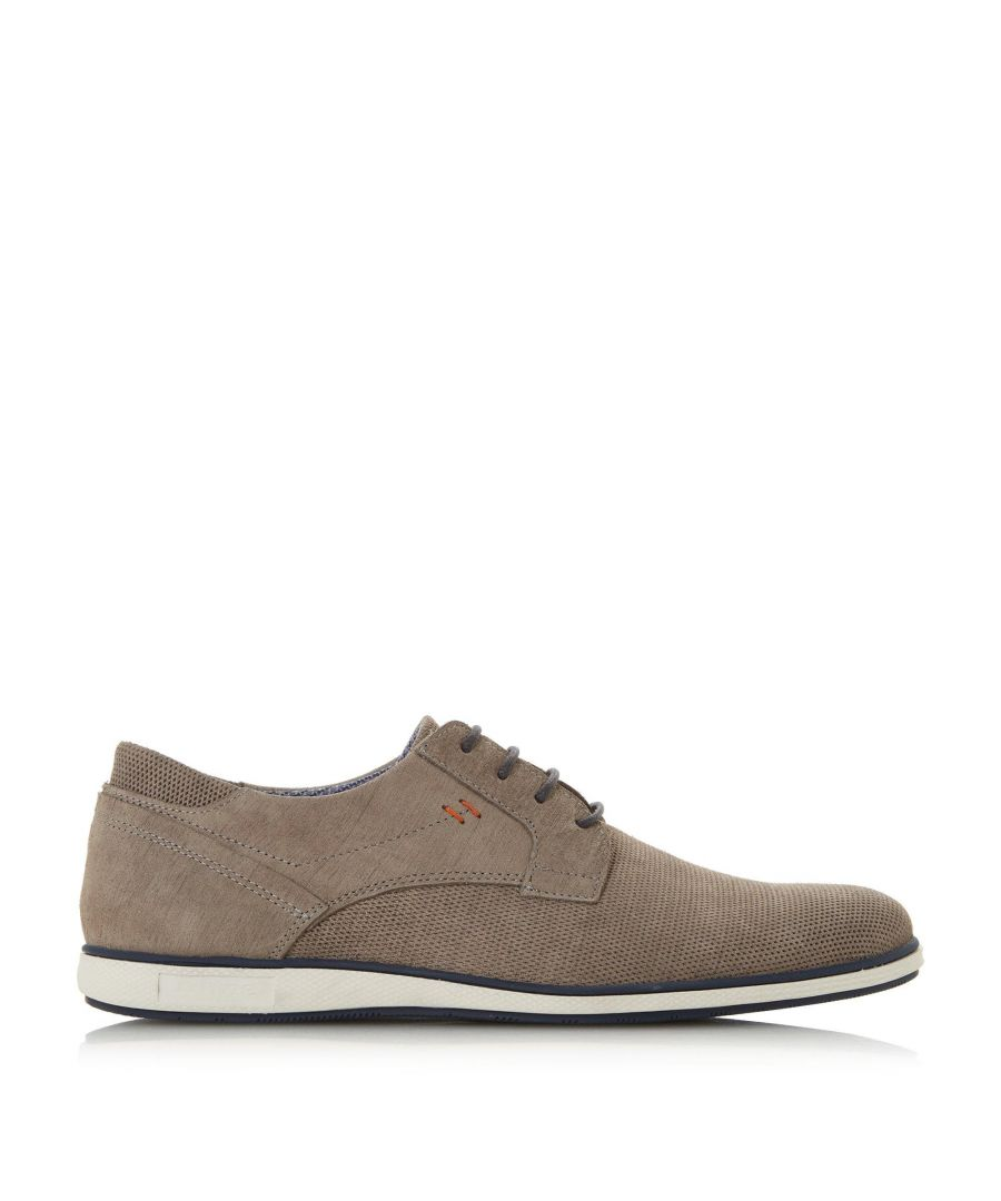 Image for Dune Mens BAMFIELD Perforated Derby Shoes