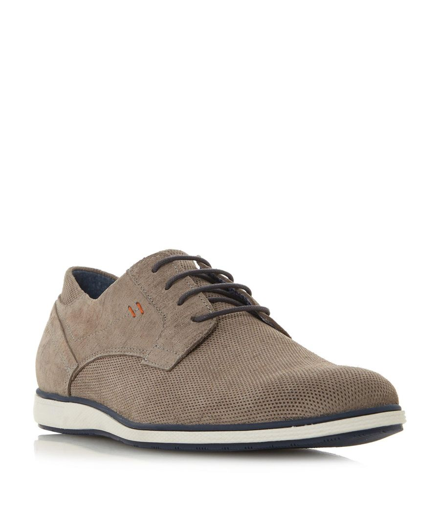 Image for Dune Mens BAMFIELD Perforated Derby Shoe