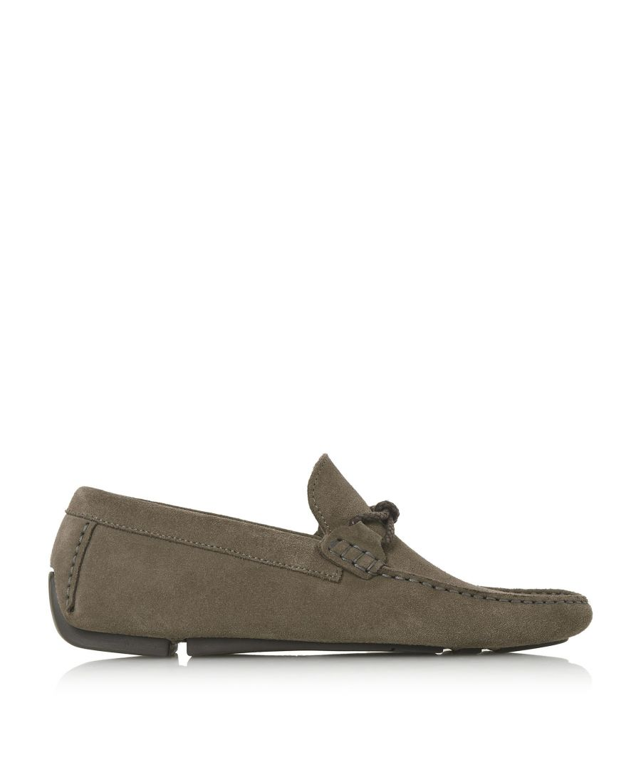 Image for Bertie Mens BANDIT X Weave Knot Lace Driver Loafer